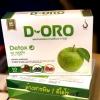 D-ORO DETOX ดีท็อกซ์ รสแอปเปิ้ล ส่งฟรี