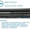 Battery DELL 9 CELL ของแท้ Latitude E5420 E5430 E5520 E5530 E6420 E6430 E6520 E6530 ประกันศูนย์ DELL ราคา ไม่แพง
