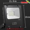 LED Solar Flood Light 20W พร้อมแบตเตอรี่ 7800mAh