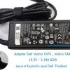 Adapter DELL Vostro 5480 , Vostro 5470 65W 9C29N 19.5V 3.34A 65W ของแท้ ประกัน ศูนย์ DELL ราคา ไม่แพง