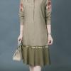 ชุดเดรส ผ้าลินินมิกซ์ผ้าลูกไม้คลาสสิคสวยหรู สไตล์ โปโล ราล์ฟ รอเลน