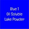 FD&C Blue No.1 Lake (Brilliant Blue) 20g ละลายน้ำมัน