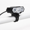 ไฟจักรยาน ไฟท้าย ไฟหน้าจักรยาน LED OOP CREE XML-T6 X3 USB Waterproof สว่าง 12000 Lumens 4 Modes S6 - Black สีดำ