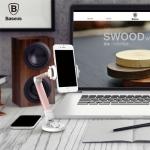 Baseus portable Lazy Bracket (ที่ยืดมือถือติดกับโต๊ะ)