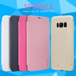 เคส Samsung Galaxy S8+ ของ Nillkin Sparkle Leather Case