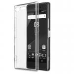เคสยาง Xperia XZ1 แบบ Ultra thin Crystal Clear Soft TPU Case – สีใส