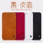 เคส Apple iPhone X ของ Nillkin Qin Leather Case