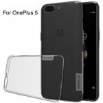 เคส OnePlus 5 ของ Nillkin Nature TPU 0.6mm Case - สีเทา