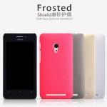 เคส Asus Zenfone 4.5 ของ Nillkin Frosted Case - สีแดง