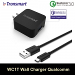 ที่ชาร์จ TRONSMART WC1T Quick Charge 3.0 USB Wall Travel Charger