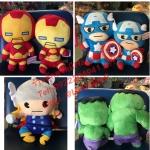 ตุ๊กตามาเวล The avenger ครบเซต
