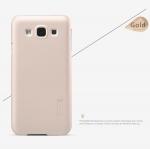 เคส Samsung Galaxy E5 ของ Nillkin Duper Frosted Case - สีทอง