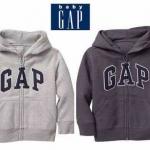 เสื้อกันหนาวเด็ก Gap สีเทาอ่อน ผ้าดีมาก ผ้านุ่มใส่อุ่นๆ ขนาด 4y