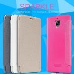 เคส OnePlus 3 ของ Nillkin Sparkle Leather Case