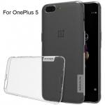 เคส OnePlus 5 ของ Nillkin Nature TPU 0.6mm Case - สีใส