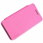 เคส Asus Zenfone 4 ของ Nillkin Sparkle Case - สีชมพู