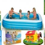 สระน้ำเป่าลม / อุปกรณ์เล่นน้ำ / เล่นทราย / ของเล่นเป่าลม / บ่อกระโดด / บ่อบอล