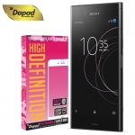DAPAD กระจกกันรอยแบบลงโค้ง กาวเต็มจอ Curved Full Cover 9H For Sony Xperia XZ1