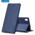 เคสฝาพับ X-Level FIB Color Leather Flip Cover สำหรับ Xperia XA1 Ultra