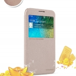 เคส Samsung Galaxy E5 ของ Nillkin Sparkle Leather Case - สีทอง