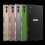 เคส Xperia XZ / XZs แบบ Aluminum Bezel PC Back Cover Case ลายเคฟล่า