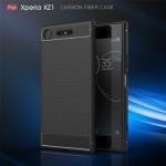 เคสยาง Luxury Soft Case TPU Carbon Fiber for Xperia XZ Premium