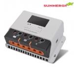 PWM คอนโทรลเลอร์ 12V/24V 30A STC-SR-HP2430N ระบบ LCD และ USB