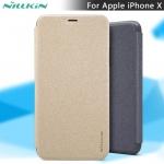 เคส Apple iPhone X ของ Nillkin Sparkle Leather Case