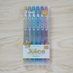 Set 6สี Pilot Juice 0.5 Metallic
