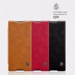 เคสฝาพับ Xperia XA1 Plus ของ Nillkin Qin Leather Case