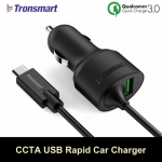 ที่ชาร์จในรถ Tronsmart CCTA Quick Charge 3.0&Type-C Car Charger