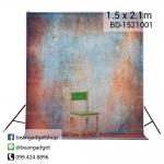 ฉากถ่ายรูป 1.5 x 2.1m BD-1521001 photography studio video backdrop background screen durable non-glare.