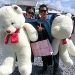 ตุ๊กตาหมีอ้วน140cmสีน้ำตาลอ่อน