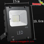 LED Solar Flood Light 30W พร้อมแบตเตอรี่ 10400mAh