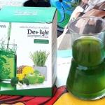 ดีไลท์ คลอโรฟิลล์ ล้างพิษ DE-LIGHT ดีต่อสุขภาพ ส่งฟรี