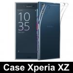 เคสยาง Xperia XZ / XZs แบบ Ultra thin Crystal Clear Soft TPU Case – สีใส