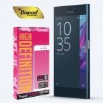 DAPAD กระจกกันรอยแบบลงโค้ง กาวเต็มจอ Curved Full Cover 9H For Sony Xperia XZ/XZs