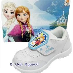 Chappy CF9124 - รองเท้าพละขาวหญิง Elsa Frozen ใหม่ 2561