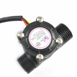 Water flow sensor (Sea) YF-S201 Flowmeter G1/2 1-30L/min Black
