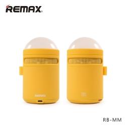ลำโพงบลูทูธ Remax RB-MM เบสแน่นตื้ดๆ LED เปลี่ยนสีไปเรื่อย Yellow สีเหลือง