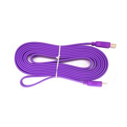 สาย HDMI version 1.4a Hi-Speed - 3 เมตร - สีม่วง
