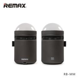 ลำโพงบลูทูธ Remax RB-MM เบสแน่นตื้ดๆ LED เปลี่ยนสีไปเรื่อย Black สีดำ