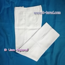 กางเกงแสลคสีขาว
