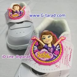 Chappy SF-3 - รองเท้าพละขาวหญิง Sofia เทป 2561