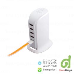ชาร์จไฟมือถือ 30W USB Desktop Charger 5 Ports - White สีขาว
