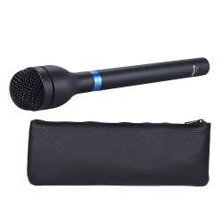 ไมโครโฟน สัมภาษณ์ BOYA BY-HM100 Handheld Dynamic Microphone Omni-Directional XLR Connector