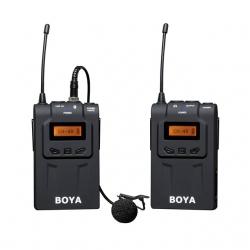BY-WM6 Boya Wireless UHF Microphone For DSLR Mirrorless Camera ไมค์โครโฟนไร้สายกล้อง DSLR