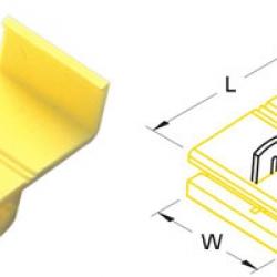 ตลับหนีบสาย 12-10 A.W.G. 4-6mm2 878201 SS 4 T-Lug Quick Splice Connectors KST