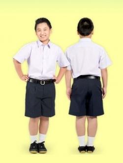 เสื้อนักเรียนตราสมอ เชิ๊ตชาย