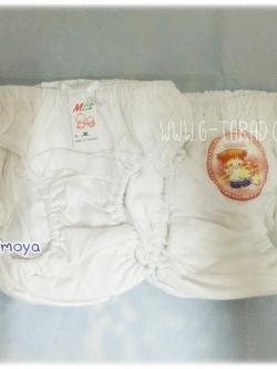 กางเกงในเด็กหญิงสีขาว